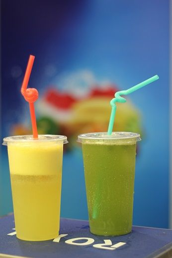 KIN Fruits Special: Fresh Pineapple & Cucumber Juice.