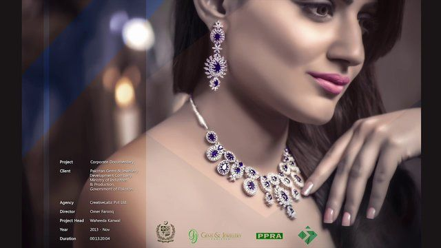 Exceptionally well-done Corporate documentary that looks at the rise of Pakistan Gems & Jewellery Industry of Pakistan and the role of Pakistan Gems & Jewellery Development Company - Ministry of industries & production, Government of Pakistan. Premiered at Dubai International Jewellery Week 2013.