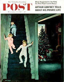 JohnFalter Christmas Morning 1955