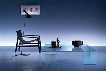 GlazenDesignTafel.nl | Glazen salontafel Neutra | FIAM | Italian design | Interior design | Glass table