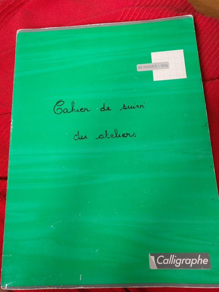 Mon cahier de suivi des ateliers individuels - Fofy à l'école