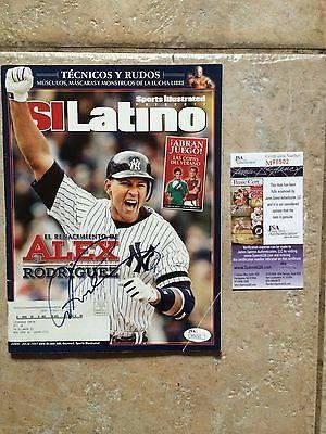 June July Si Latino Si Magazine Signed Alex Rodriguez Auth-the Resurgence - JSA Certified - Autographed MLB Magazines ** Want additional info? Click on the image.