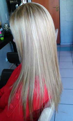 Balejaż włosów - salon fryzjerski Sabina Jędrzejko - www.freestyle.net.pl