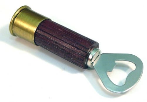 Pop that top with a bang! This unique shotgun shell bottle opener is sure to be…