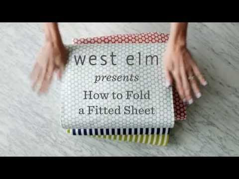 The Super-Easy Way to Fold a Fitted Sheet