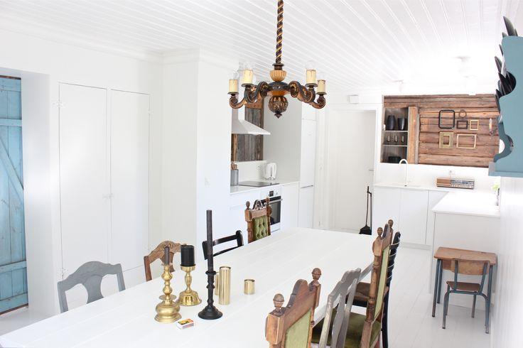 My diningroom. www.fru-andersen@blogspot.com