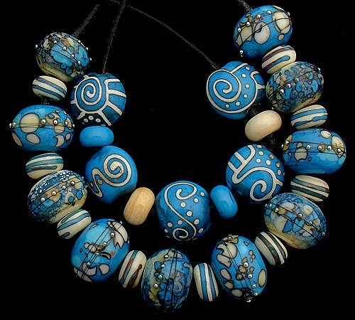 lampwork beadsbeaded jewelrybead