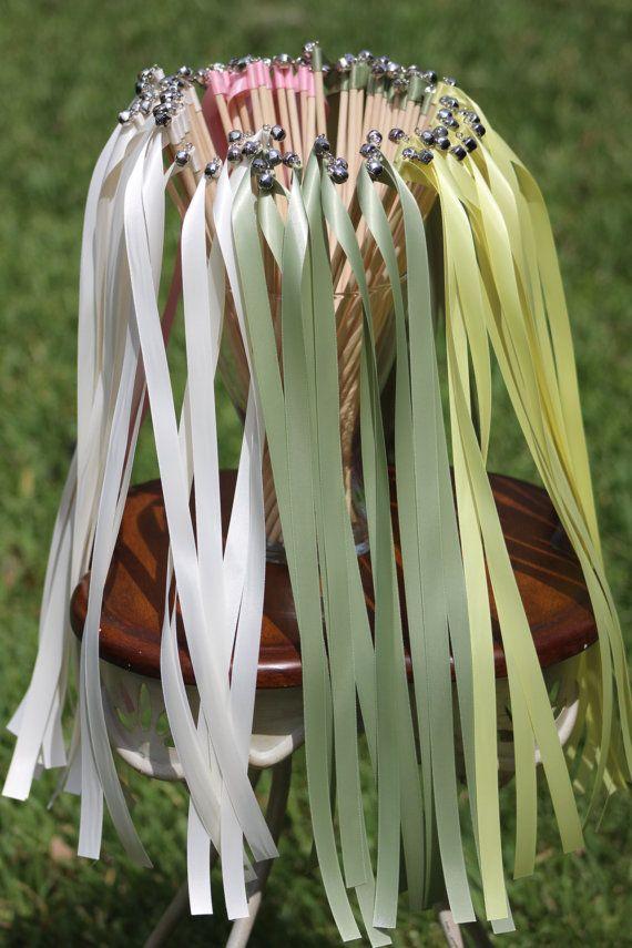 200 Wedding Ribbon Wands