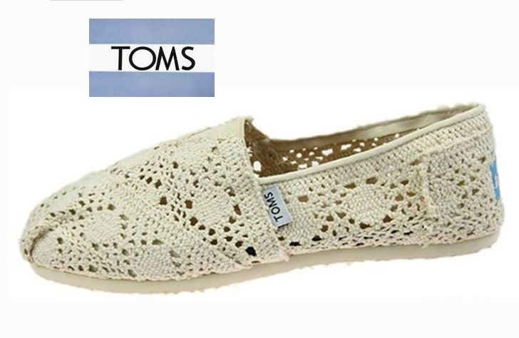 $20.00 Toms Crochet Shoes Natural Womens Classic