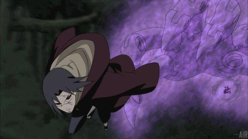 Itachi Uciha and Sasuke Uchiha* #gif