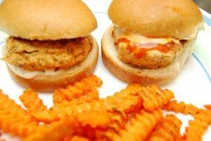 Buffalo Chicken Sliders - A Yummy recipe for ground chicken!