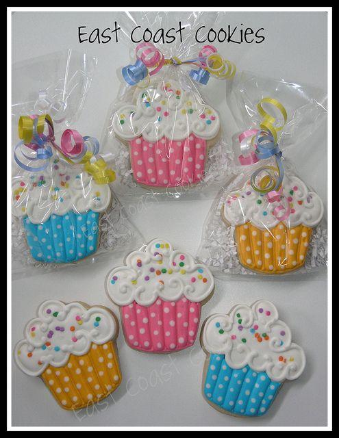 Cupcake Cookies by East Coast Cookies, via Flickr
