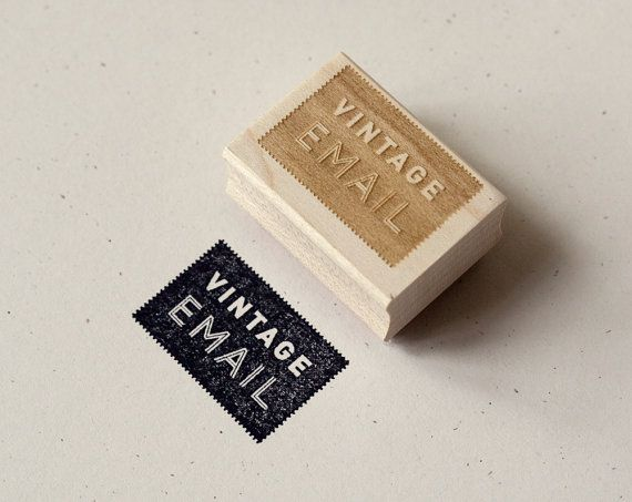 Vintage e-mail - that's text IRL! Love it. For your favorite letter-writing friends & mail art buddies #mailart