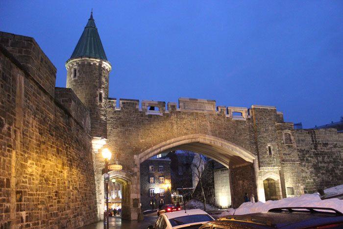 Quebec portes fortifications | SUITE : 1 an après… Retour sur notre Voyage au Québec – n°2/4 ...