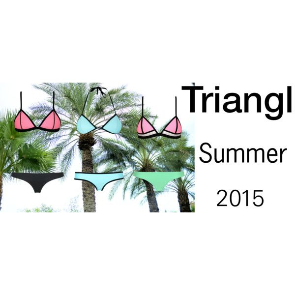 """""""Triangl"""" by louisesandstroms on Polyvore"""