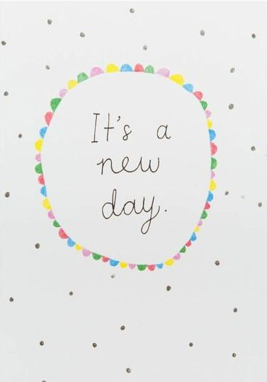 It's a new day//