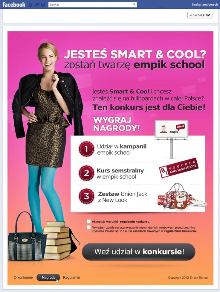 Facebook contest for empik school