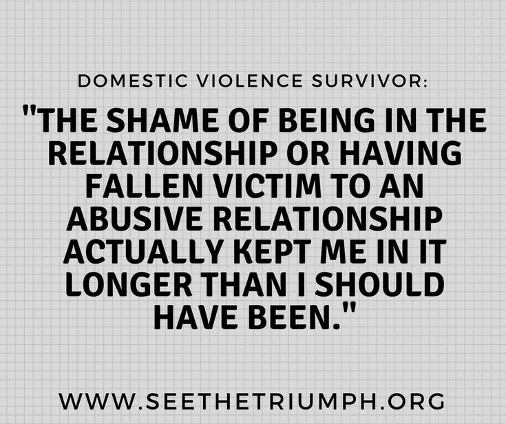 Dating a girl who has been domestic abuse