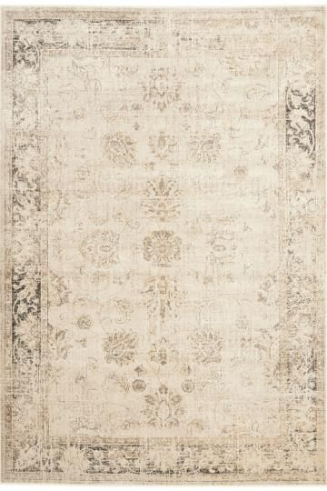 The Amelia Area Rug from the Vintage Collection features a neutral color palette combined with a traditional style of design. This rug will add the perfect touch of elegance to any home. Synthetic rugs stand up to everyday wear and resist fading for beautiful color retention. Also beautiful Indigo color way.