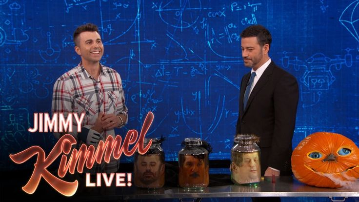 Mark Rober Shares Creative Halloween Ideas for Scaring Family and Friends on Jimmy Kimmel Live