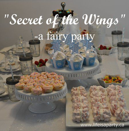 I had the pleasure of attending a fairy party on the weekend and wanted to share some of the sweet details with you. Our little friend Tara turned 5 and wanted a fairy themed party, so inspired by ...