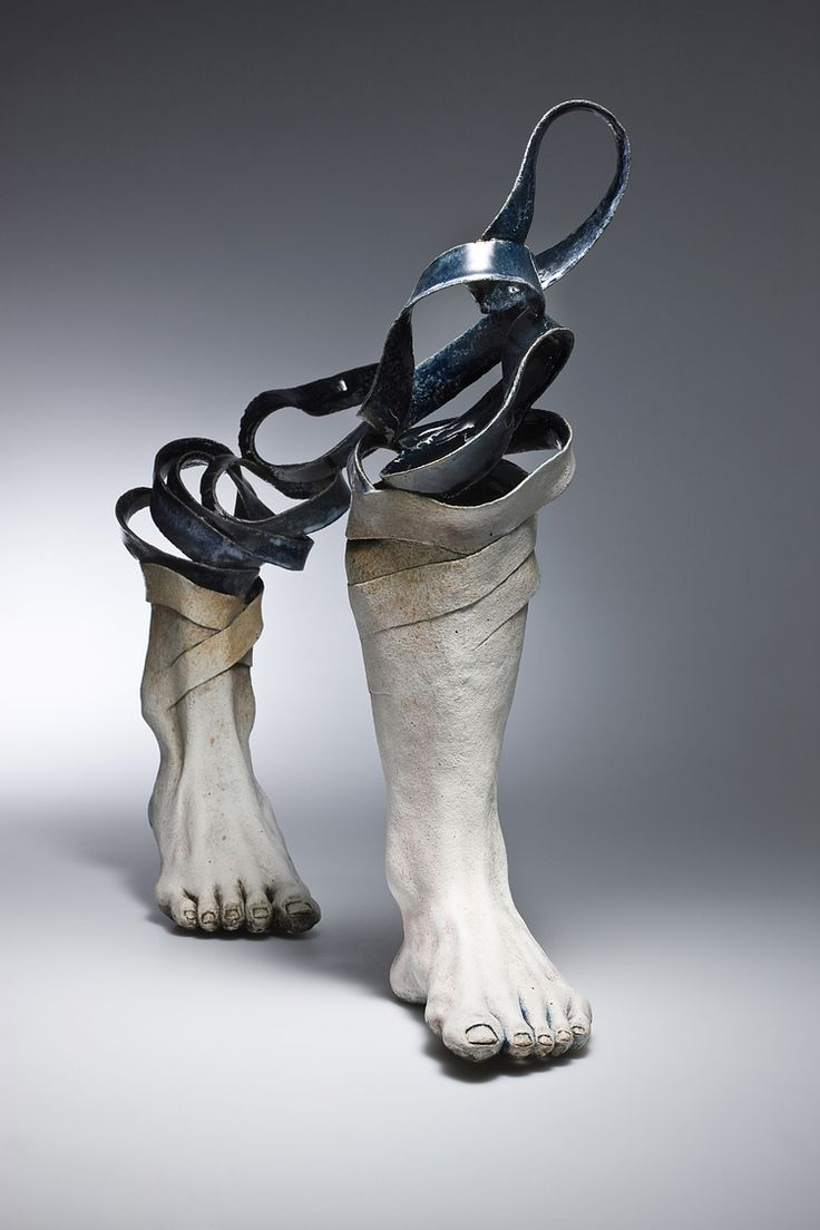 Art fairs mechanical movement metal paris russia sculptures wood - Focusing Mostly On The Human Body Seoul Based Ceramic Artist Haejin Lee Creates Abstract Ceramic Sculptures That Seem To Unravel Before Your Eyes
