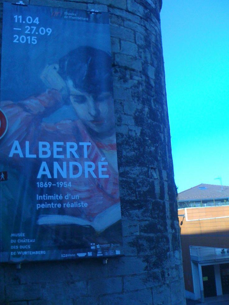 L'expo Albert André au Musée du Château des Ducs de Wurtemberg à Montbéliard. http://place-to-be.net/index.php/expositions/2543-albert-andre-intimite-d-un-peintre-realiste-au-musee-du-chateau-des-ducs-de-wurtemberg-a-montbeliard