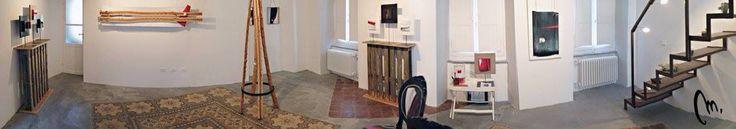 Atelier di Mauro Manco a Casté (Riccó del Golfo di Spezia)