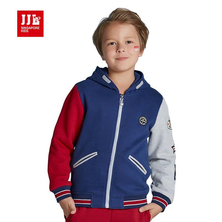 Модные мальчики с капюшоном куртки дети открытый пальто мальчики бейсбол пальто зимы детей пальто 2016 осень новое прибытие дети пальто #shoes, #jewelry, #women, #men, #hats, #watches, #belts