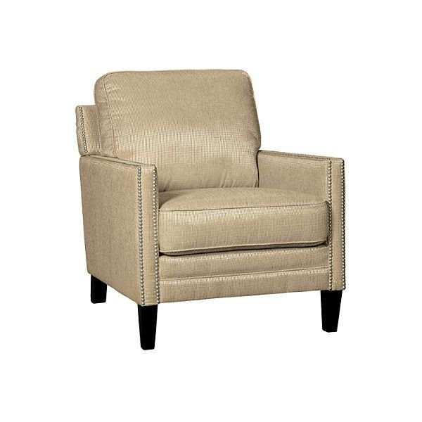 Vilonia Chair | Ashley Furniture HomeStore ($298) ❤ liked on Polyvore featuring home, furniture, chairs and accent chairs