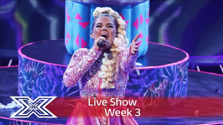 Saara Aalto belts out Bjork's Oh So Quiet | | Live Shows Week 3 | The X...