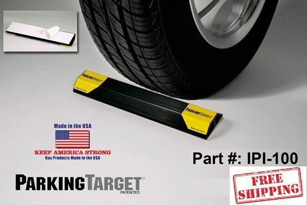 Garage Parking Curb Wheel Stopper Driveway Rubber Park Guide Block Stop Car