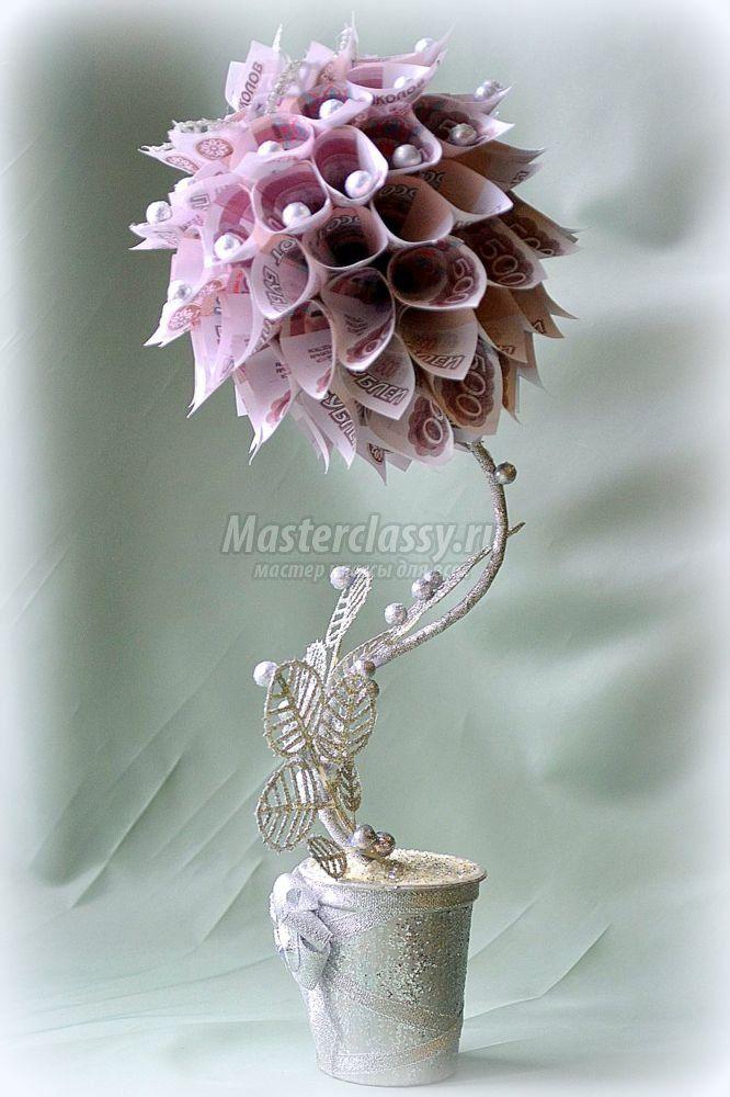 Новогоднее денежное дерево фото