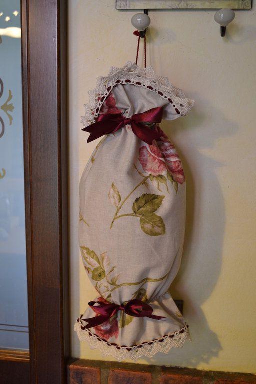 Oltre 25 idee originali per borse in tessuto su pinterest - Porta sacchetti plastica ...