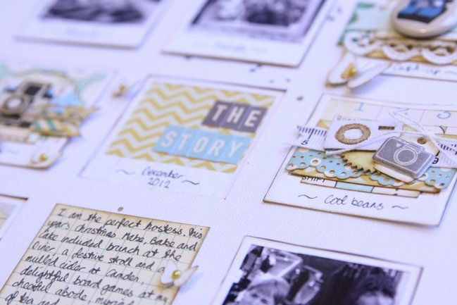 Two sides to every story, an interactive page scrapbooking tutorial by Kirsty Smith @ shimelle.com