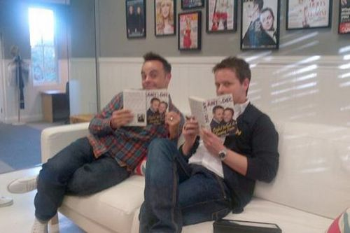 ant and dec reading their autobiography