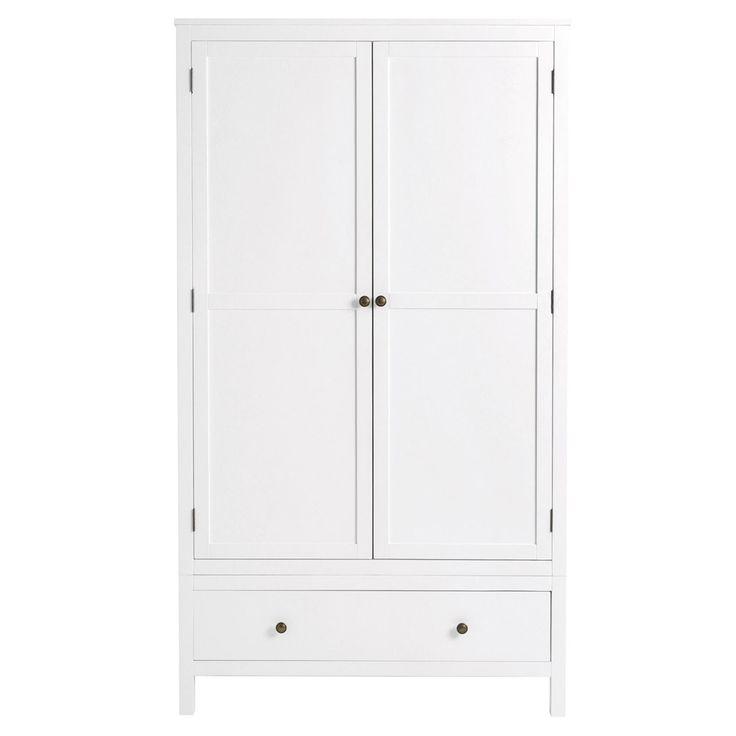 Radley White 2 Door Wardrobe | Feather & Black