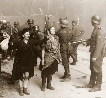 Warsaw Ghetto Uprising, 1943 ... the uprising lasted nearly a month but was eventually quenched with extensive brutality and minimal survivors.   Truly one of the epic and heroic tales of WW2