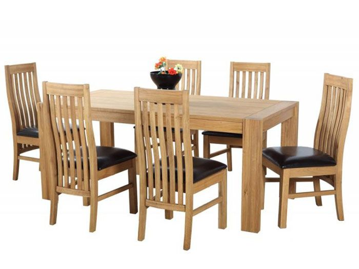 wooden dining room chairs ebay table designs with price in india oak