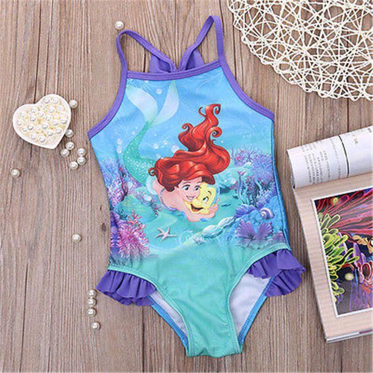 De dibujos animados traje de Baño traje de baño del bebé de La Muchacha Del Bebé traje de baño una pieza de los niños niño fijó Caliente kids set para niños ropa