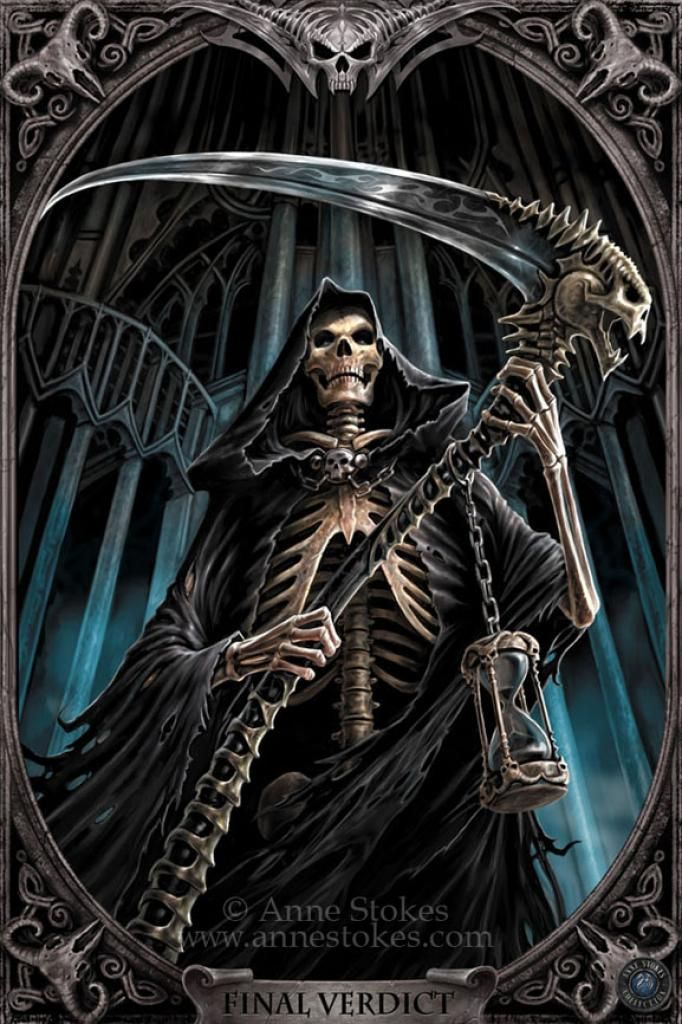 Grim Reaper Game Over Cover
