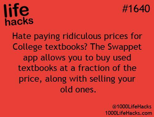 Buying textbooks