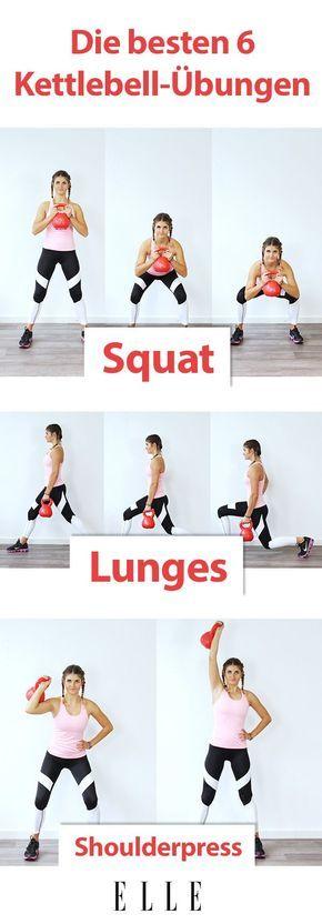 6 Kettlebell-Übungen für ein Ganzkörper-Workout