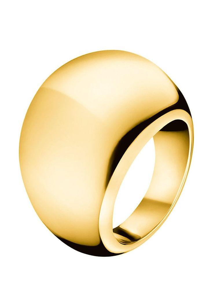 Calvin Klein ELLIPSE EXTENSION Ring goldcoloured Accessoires bei Zalando.de | Accessoires jetzt versandkostenfrei bei Zalando.de bestellen!
