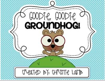Goodie, Goodie, Groundhog!  This is such a cute unit!  On my wish list!!!  LOVE it!