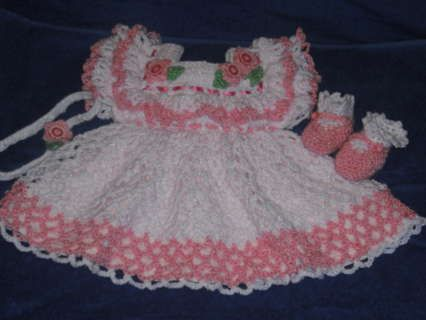 Free Crochet Preemie Baby Dress Patterns : 25+ best ideas about Crochet baby girls on Pinterest ...