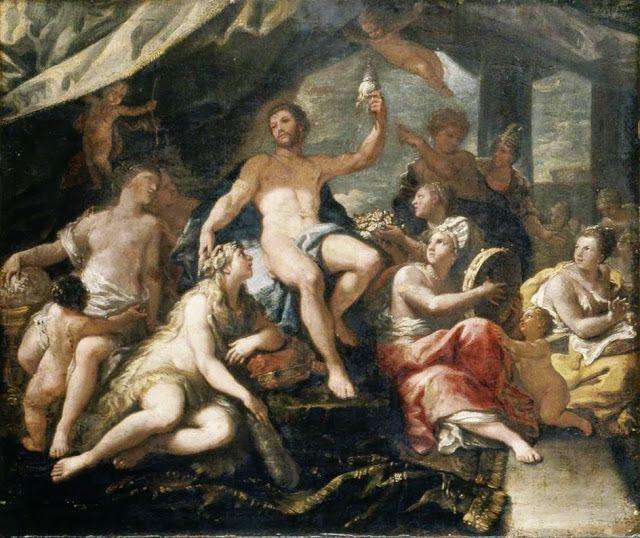 Ηρακλής και Ομφάλη 1680