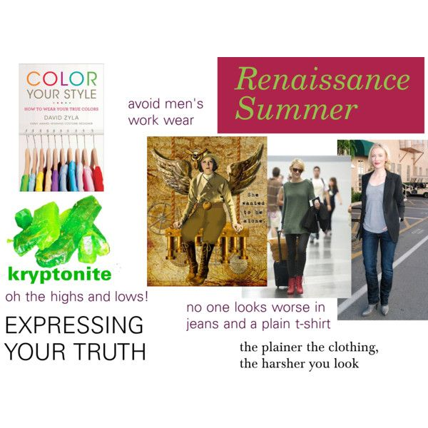"""""""Renaissance Summer's Must Avoids"""" by expressingyourtruth on Polyvore (Renaissance Summers are possibly Soft Summers or Light Summers)"""
