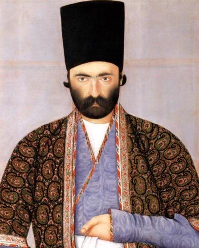 Imam Quli Khan 'Imad al-Dawleh ca. 1850. Tehran. Qajar Dynasty (1785-1925), attributed to Abu'l Hasan Ghaffari.