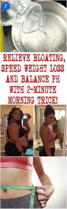 RELIEVE BLOATING, SPEED WEIGHT LOSS AND BALANCE PH WITH 2-MINUTE MORNING TRICK!
